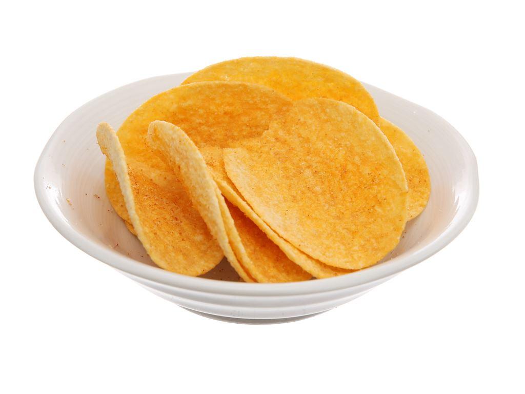 Snack khoai tây vị thơm cay Slide lon 75g 5