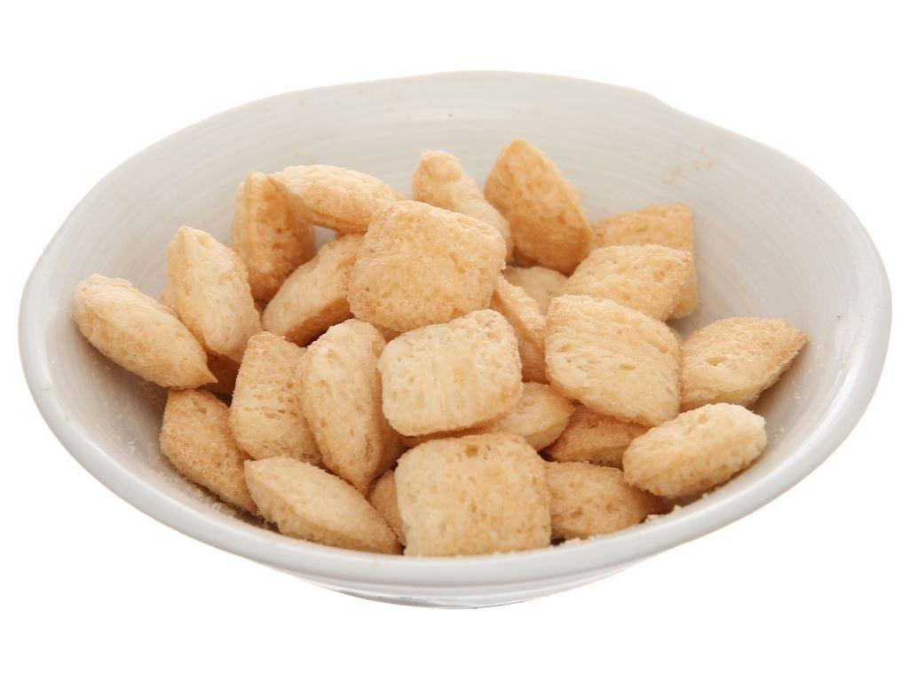 Snack nhân vị sữa dừa Oishi Pillows gói 100g 5