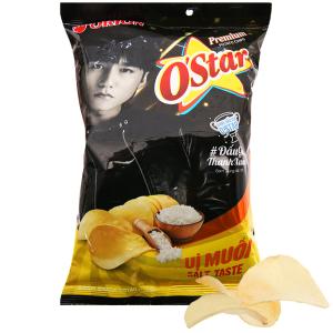 Snack khoai tây vị muối O'Star gói 30g