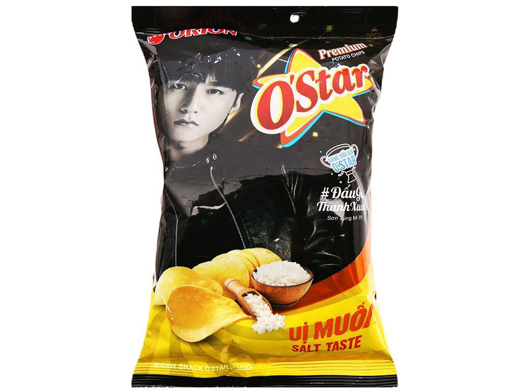 Snack khoai tây vị muối O'Star gói 30g 2