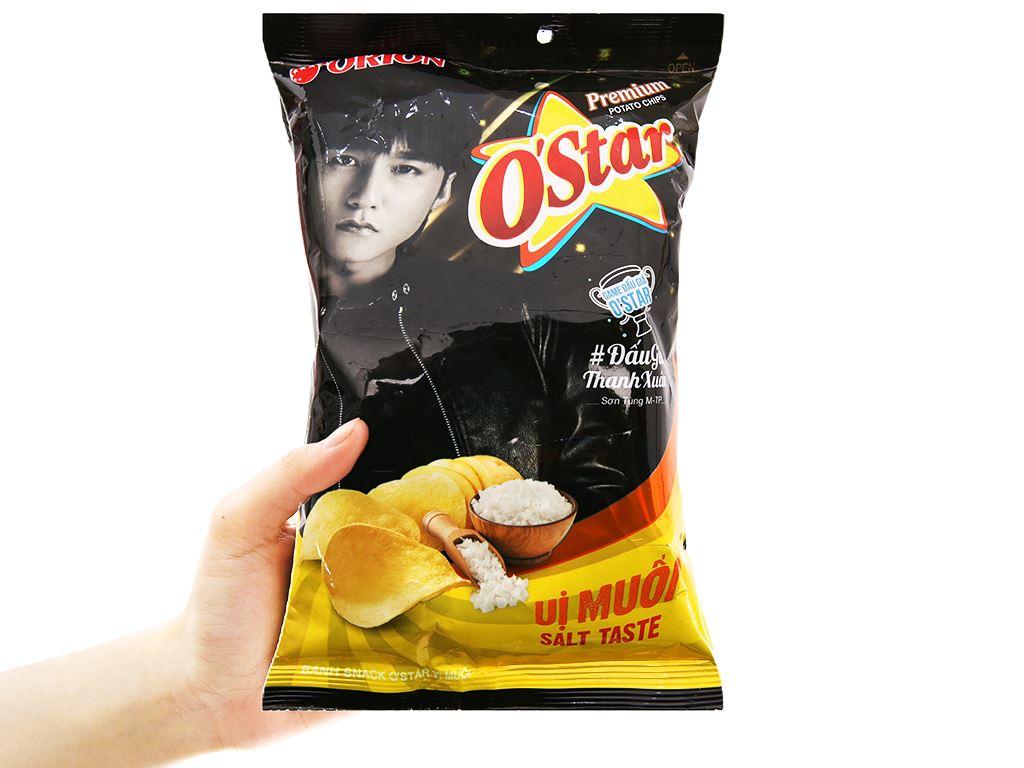 Snack khoai tây vị muối O'Star gói 30g 4