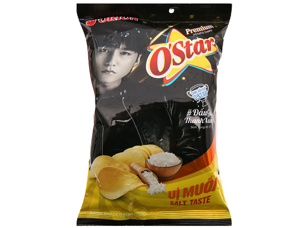 Snack khoai tây vị muối O'star gói 30g 1