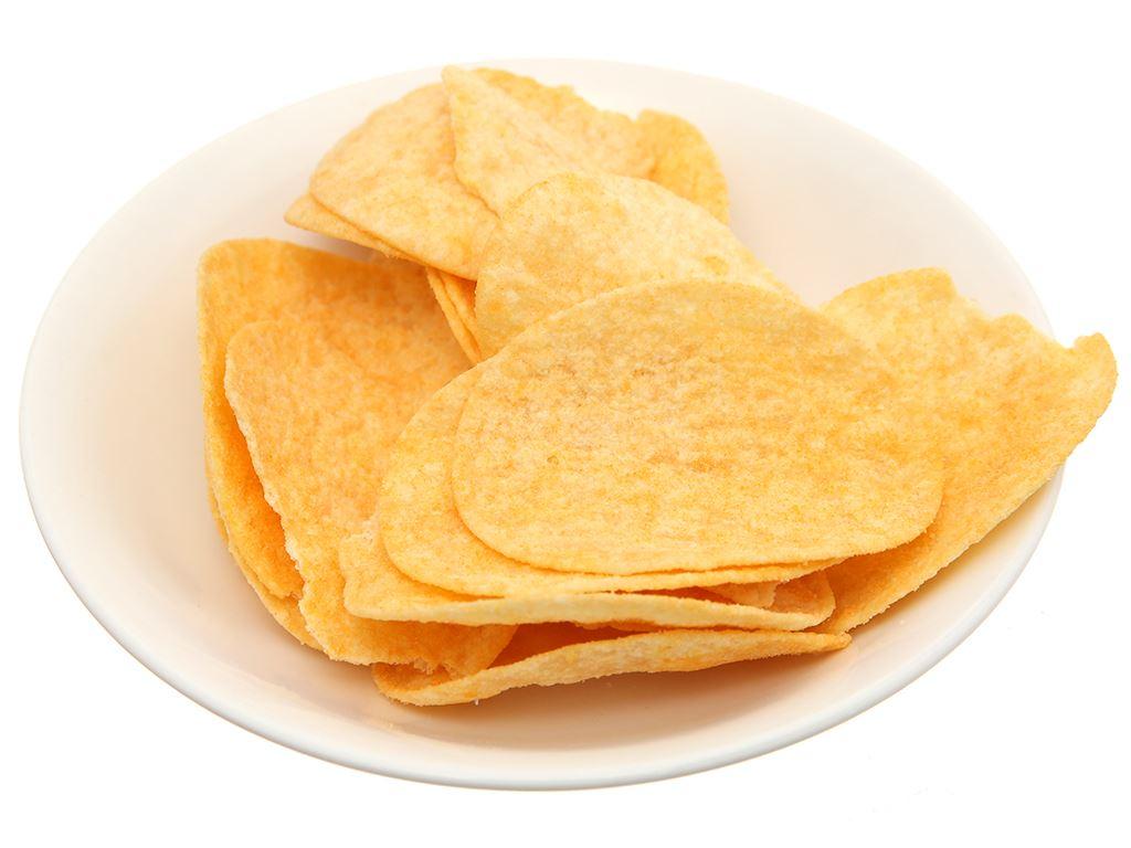 Snack khoai tây vị phô mai Slide lon 160g 10