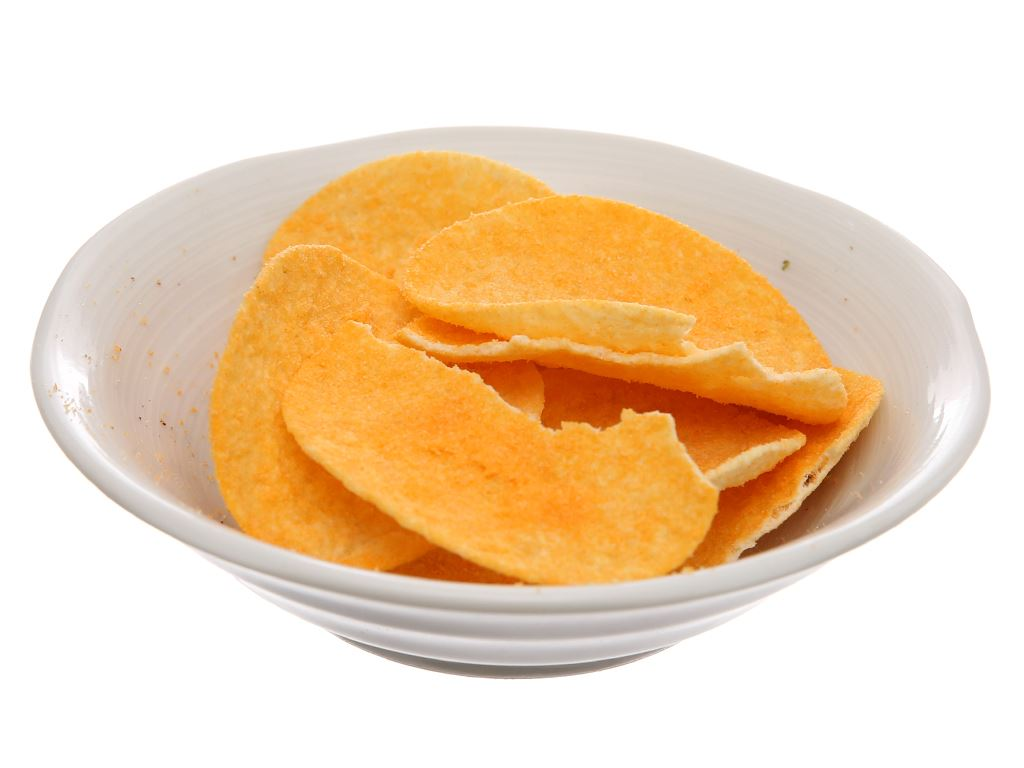 Bánh lát khoai tây vị phô mai Slide lon 75g 4