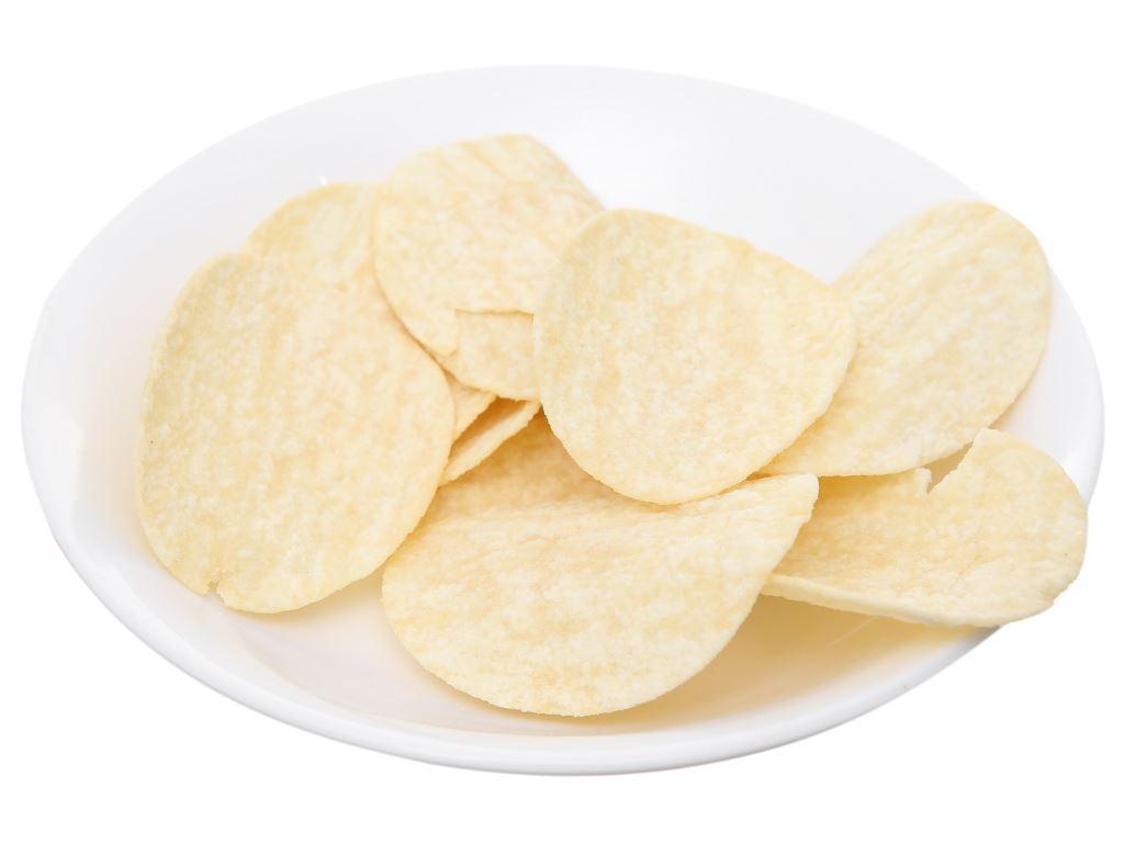 Bánh lát khoai tây vị tự nhiên Slide lon 75g 5