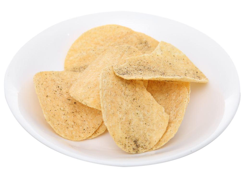 Bánh lát khoai tây vị tảo biển Slide lon 160g 4