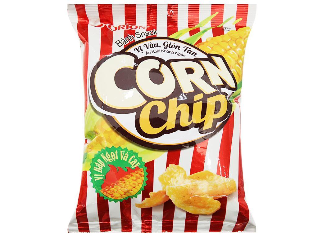Snack vị bắp ngọt và cay Corn Chip gói 35g 2