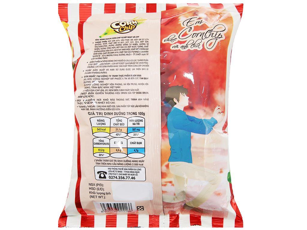 Snack vị bắp ngọt và cay Corn Chip gói 35g 3