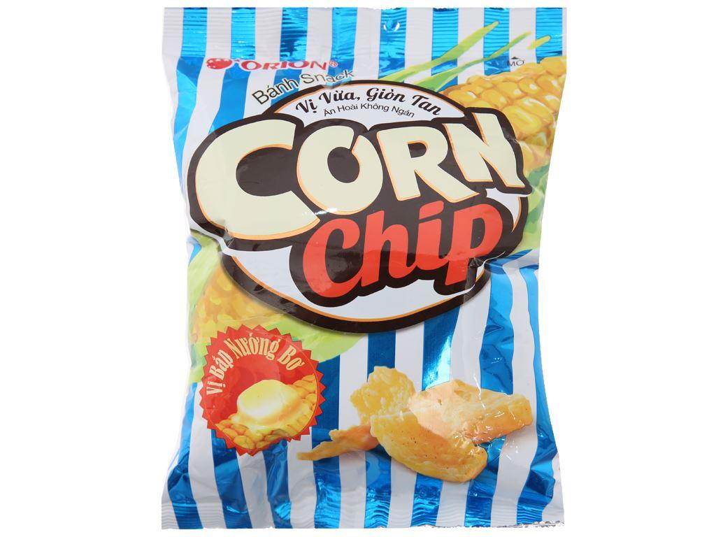 Snack vị bắp nướng bơ Corn Chip gói 35g 1