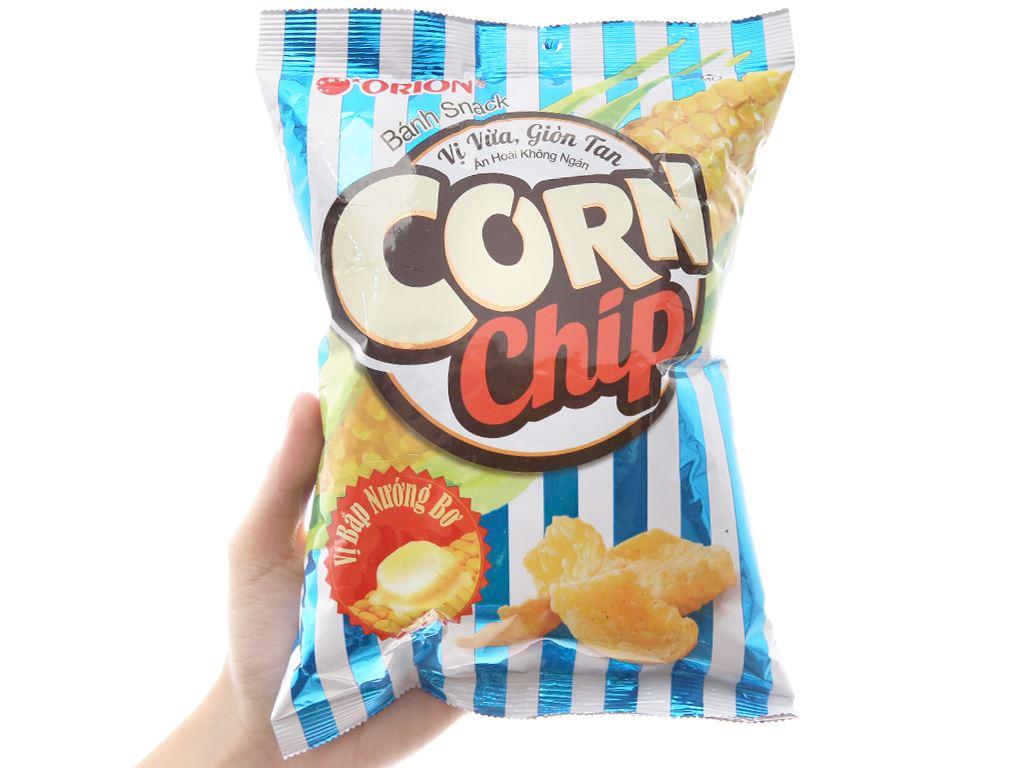 Snack vị bắp nướng bơ Corn Chip gói 35g 3