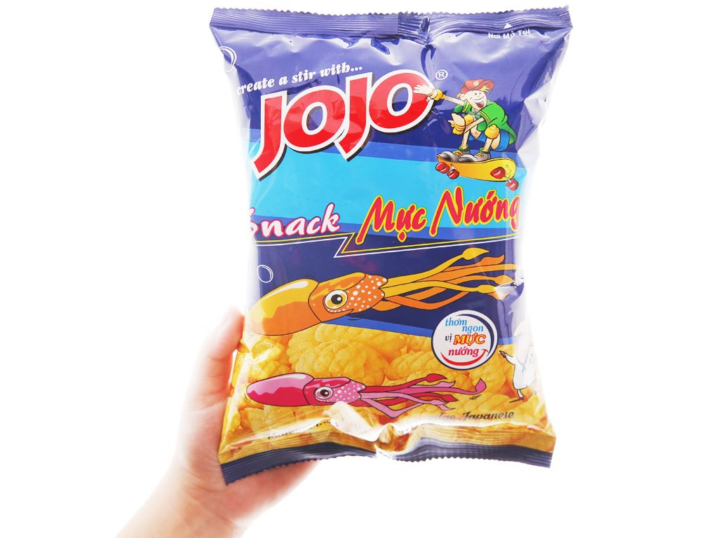 Snack mực nướng JoJo gói 40g 5