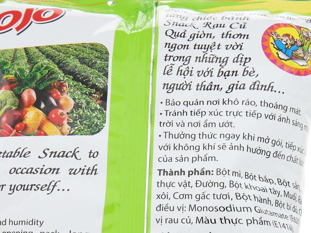 Snack rau củ quả JoJo gói 40g 5