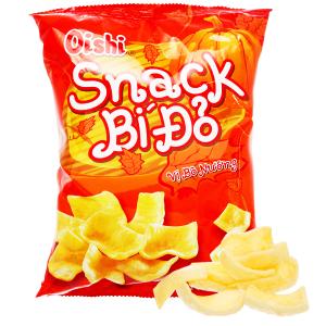 Snack bí đỏ vị bò nướng Oishi gói 42g