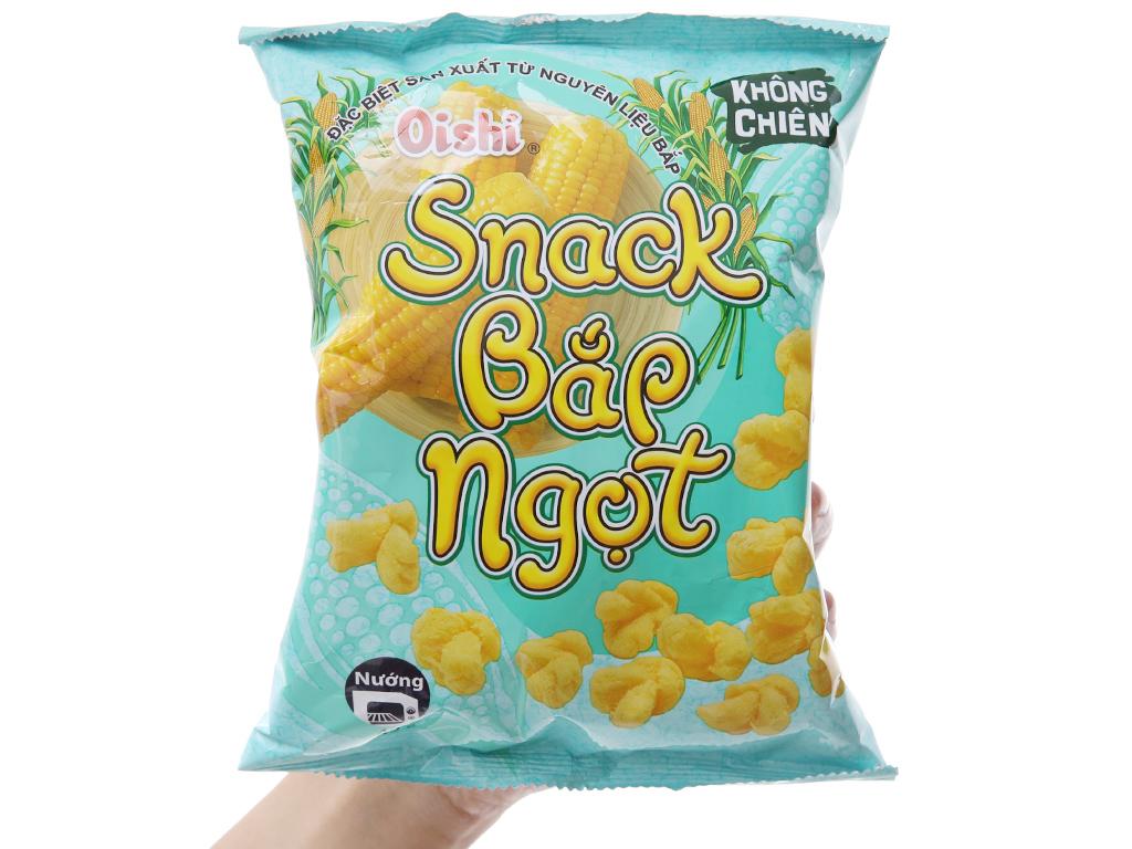Snack bắp ngọt Oishi gói 42g 3