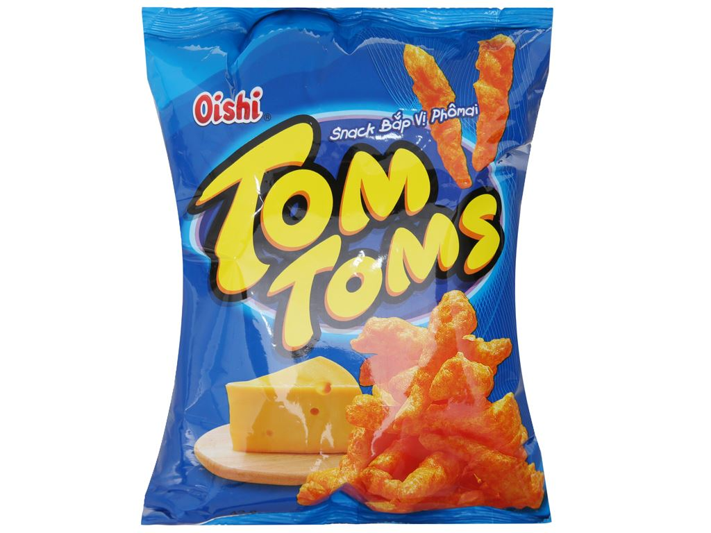 Snack bắp vị phô mai Tom Toms Tom Toms gói 42g 1