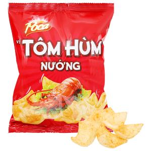 Snack vị tôm hùm nướng Poca Partyz gói 30g