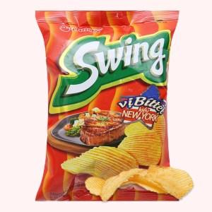 Snack khoai tây vị bít tết kiểu New York Swing gói 30g