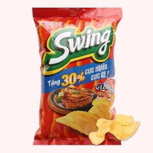 Snack khoai tây vị bít tết kiểu New York Swing gói 48g
