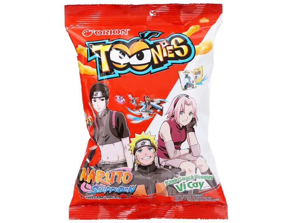 Snack Toonies vị cay gói 38g 1
