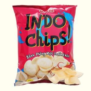 Snack phồng mực Oishi Indo Chips gói 42g