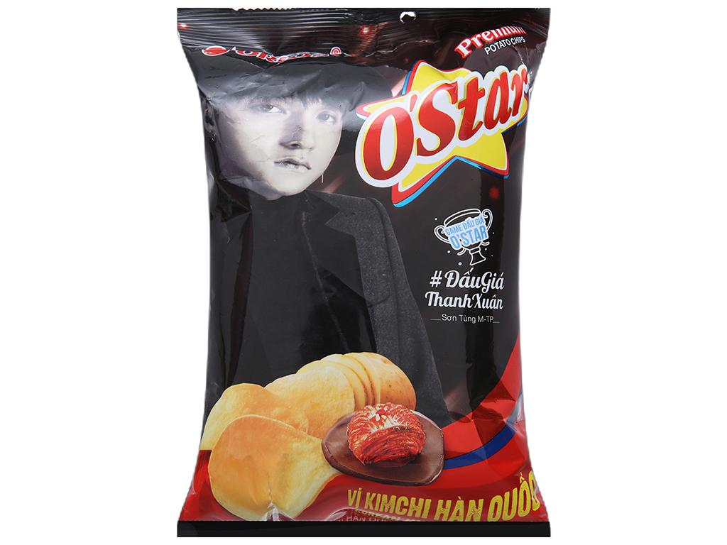 Snack khoai tây vị kim chi Hàn Quốc O'star gói 30g 1