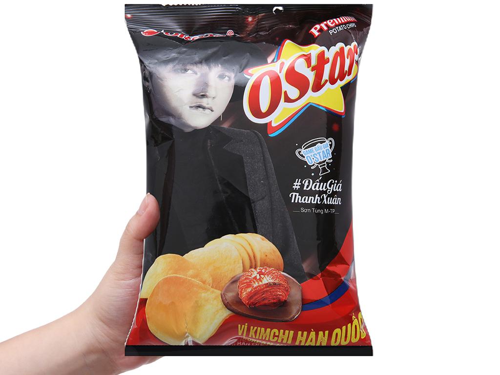 Snack khoai tây vị kim chi Hàn Quốc O'star gói 30g 3