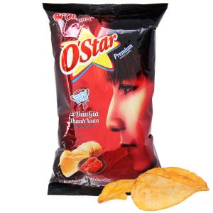 Snack khoai tây vị kim chi Hàn Quốc O'Star gói 48g