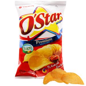 Snack khoai tây vị kim chi Hàn Quốc O'Star gói 90g
