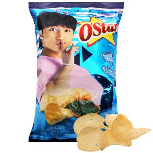 Snack khoai tây vị tảo biển O'Star gói 30g