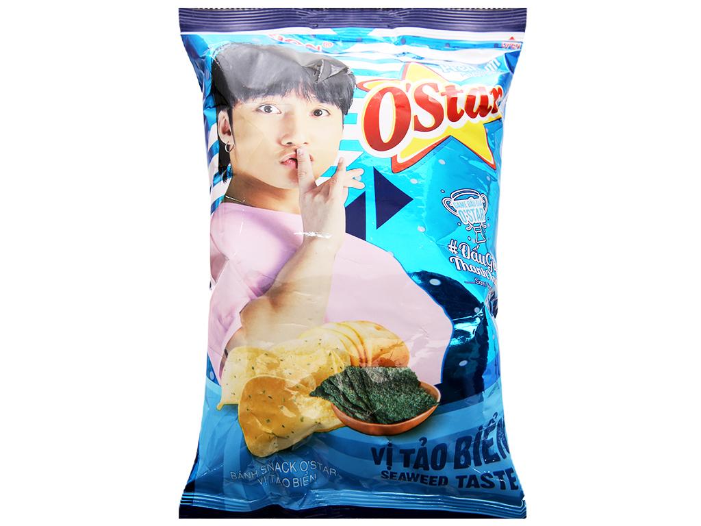 Snack khoai tây vị tảo biển O'Star gói 30g 2