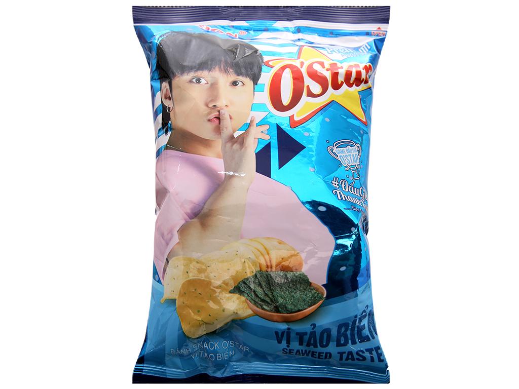 Snack khoai tây vị tảo biển O'star gói 30g 1