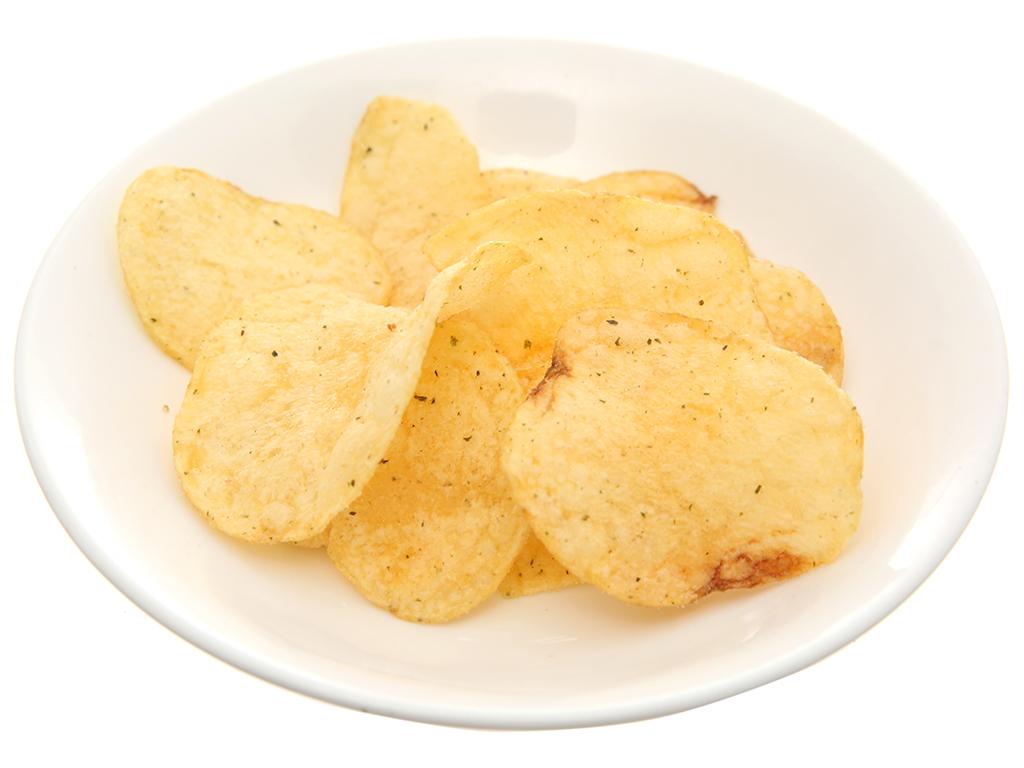 Snack khoai tây vị tảo biển O'star gói 30g 4