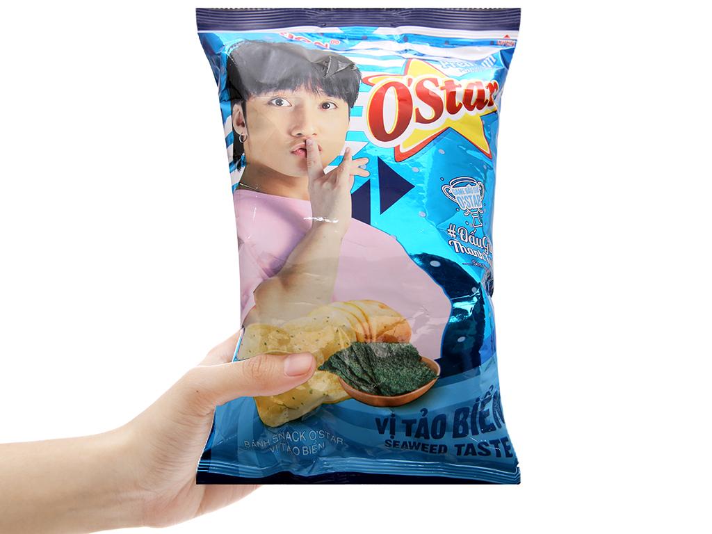 Snack khoai tây vị tảo biển O'star gói 30g 3