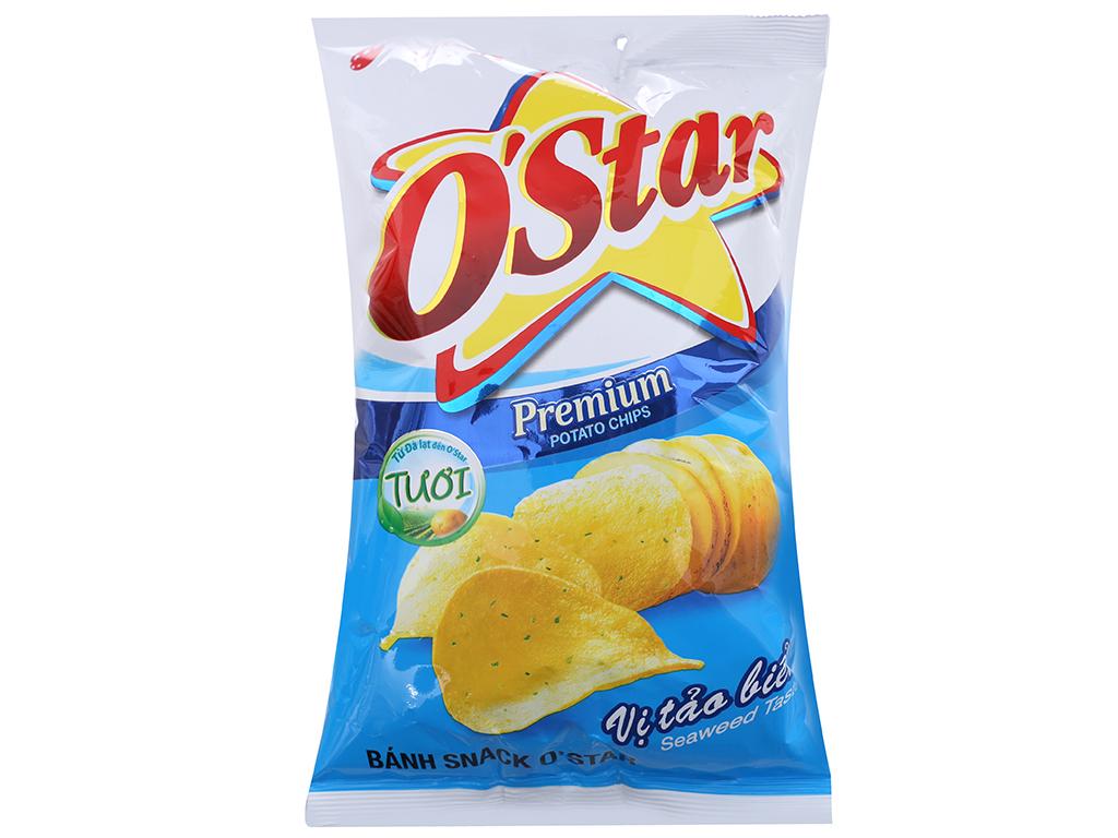 Snack khoai tây vị tảo biển O'Star gói 48g 1