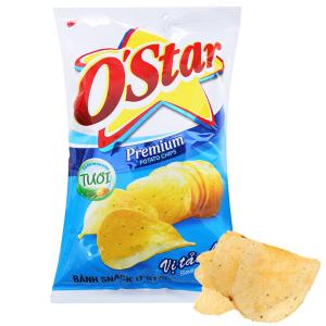 Snack khoai tây vị tảo biển O'Star gói 90g