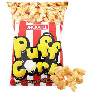 Snack vị caramen Puff Corn gói 45g
