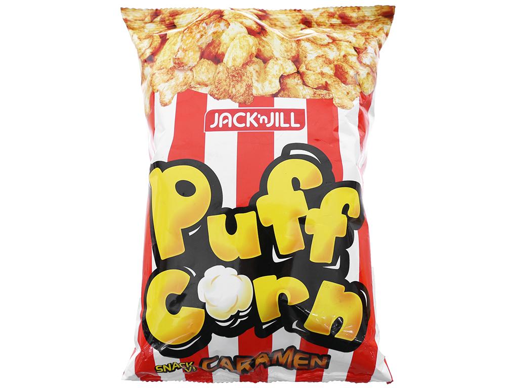 Snack vị caramen Puff Corn gói 45g 1
