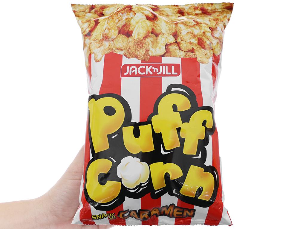 Snack vị caramen Puff Corn gói 45g 3