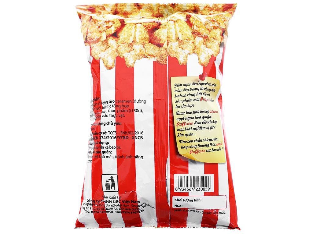 Snack vị caramen Puff Corn gói 45g 6