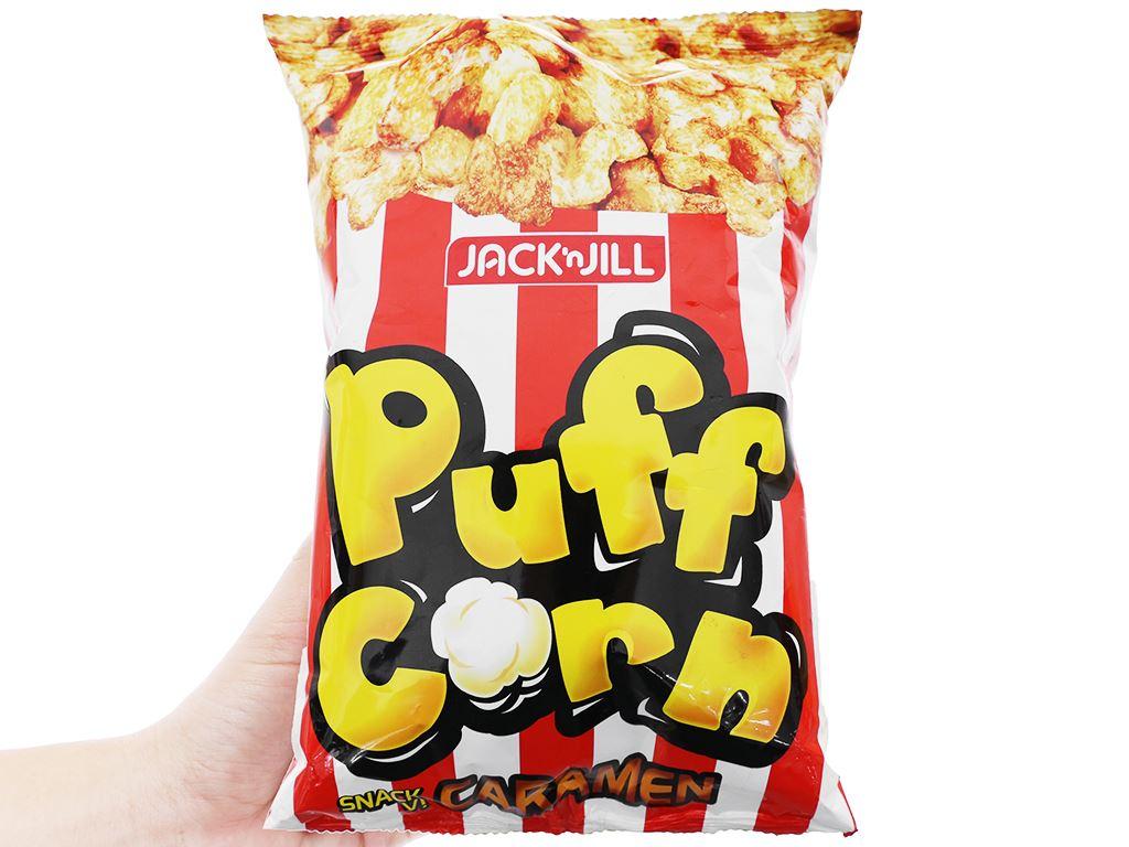 Snack vị caramen Puff Corn gói 45g 7