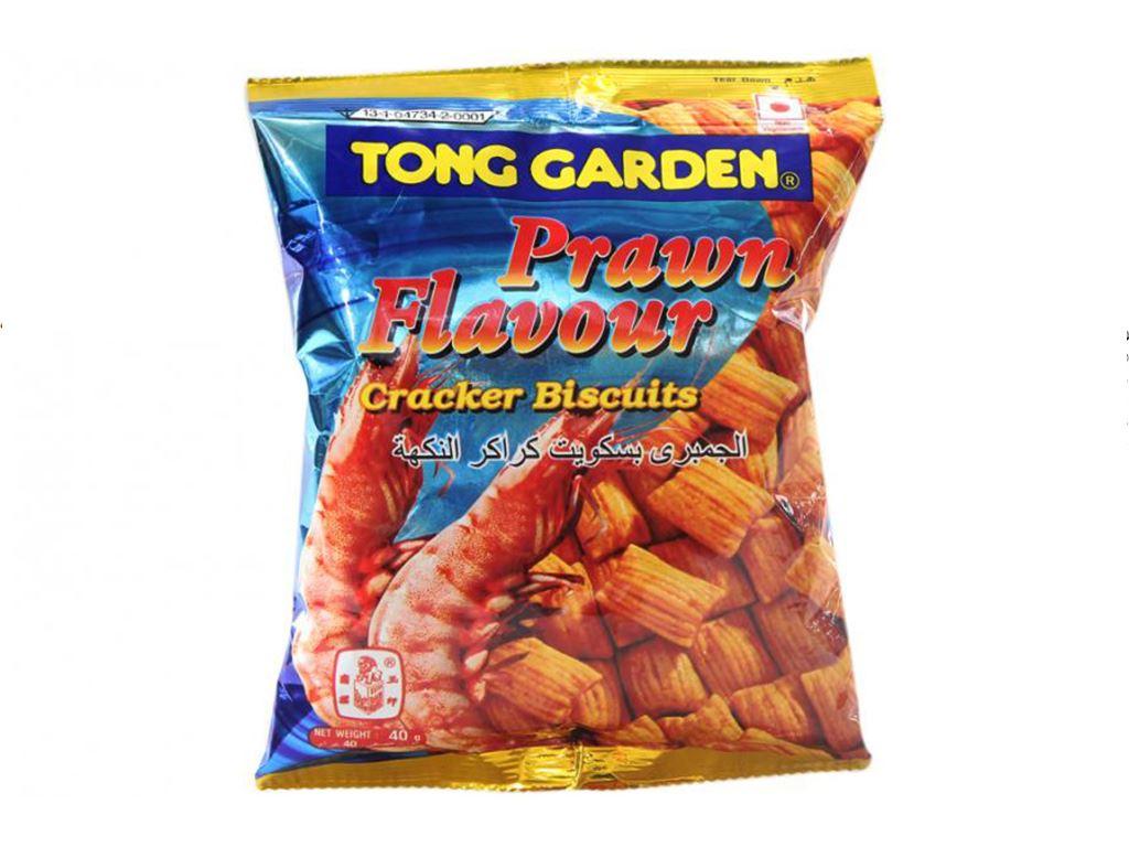 Snack Tong Garden vị tôm gói 35g 2