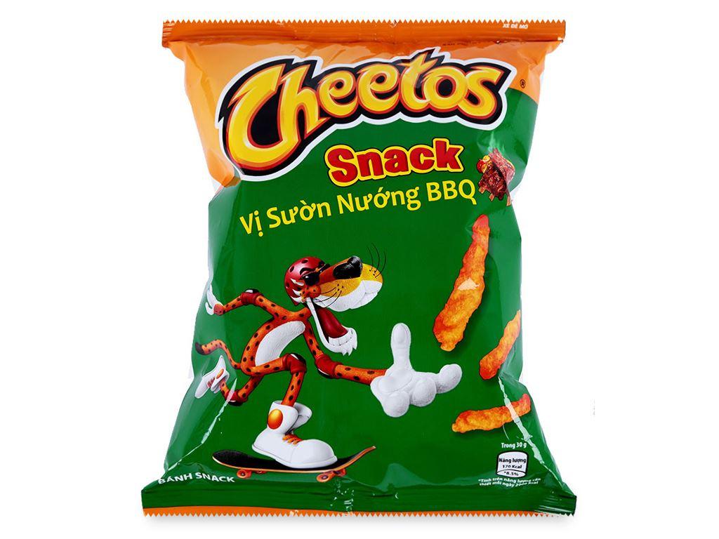 Snack Cheetos Vị sườn nướng BBQ 30g 2