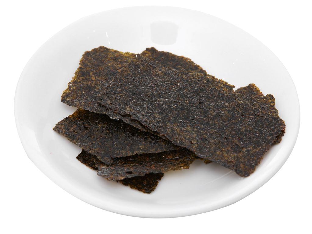 Snack rong biển nướng vị kim chi Tao Kae Noi Super Crisp gói 24g 4