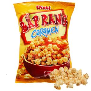 Snack bắp rang caramen Oishi gói 40g
