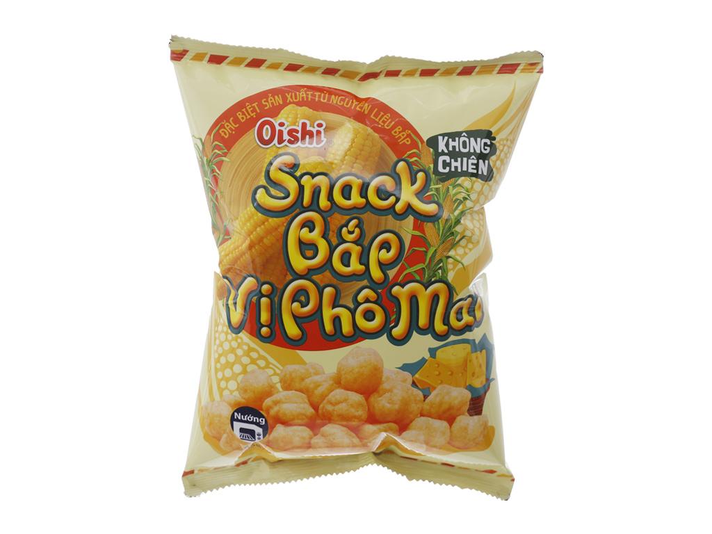 Snack bắp Oishi Phô mai 42g 2