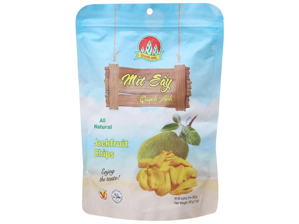 Mít sấy Quỳnh Anh túi 200g 1