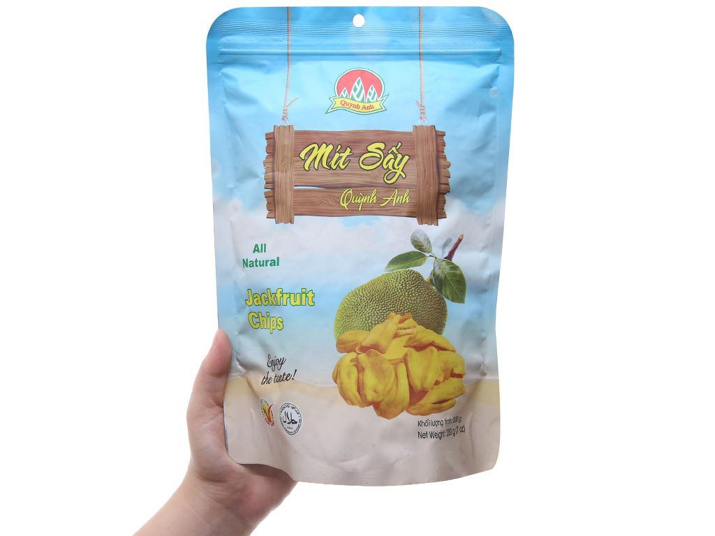 Mít sấy Quỳnh Anh túi 200g 3