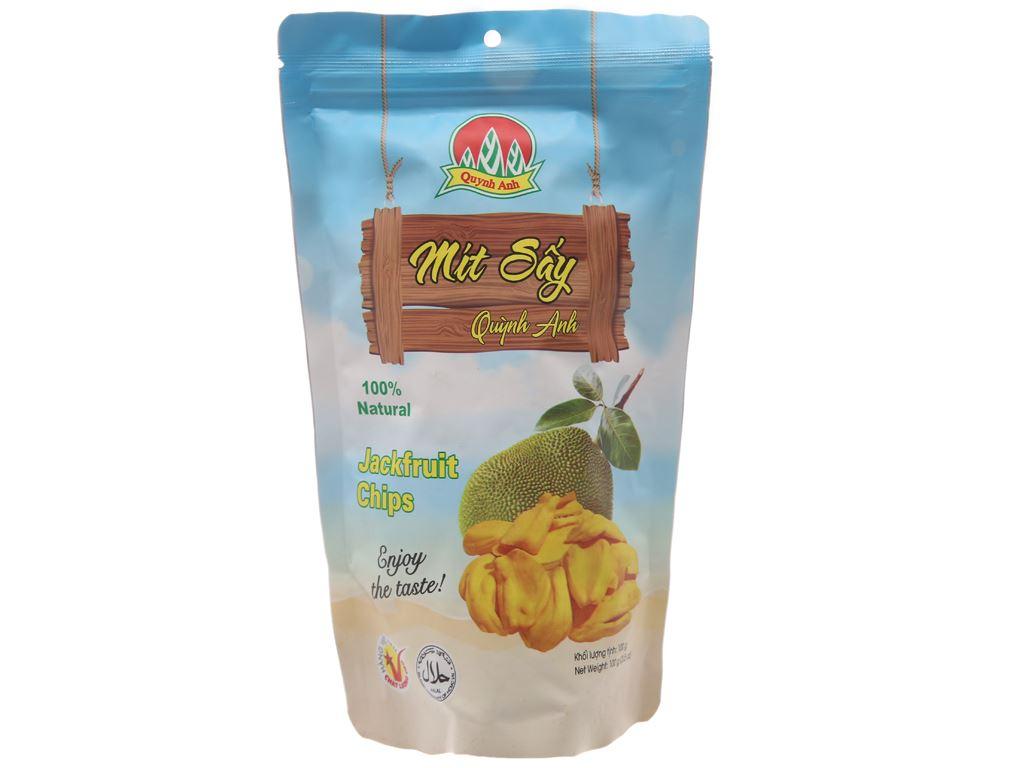Mít sấy Quỳnh Anh túi 100g 2
