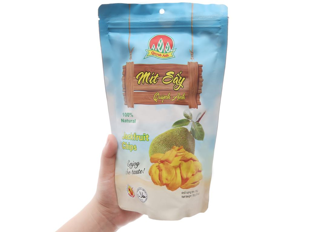 Mít sấy Quỳnh Anh túi 100g 5
