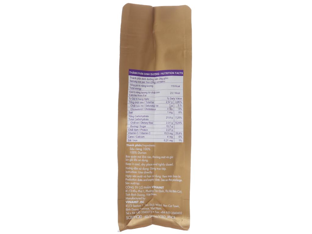 Sầu riêng sấy lạnh Vinamit túi 50g 2